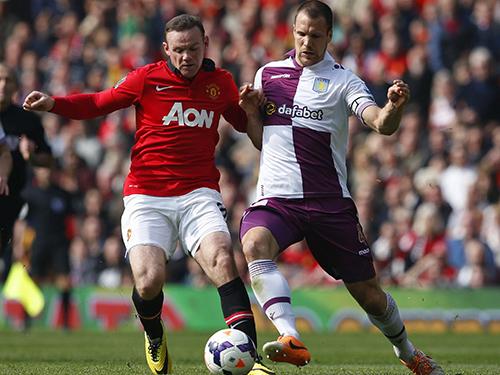 Rooney (trái) sẽ là đầu tàu để M.U kỳ vọng vào một kết quả bất ngờ trước Bayern MunichẢnh: REUTERS