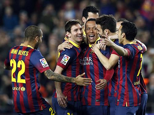 Barcelona và Messi sẽ có trận đấu nhọc nhằn tại Etihad Ảnh: Reuters