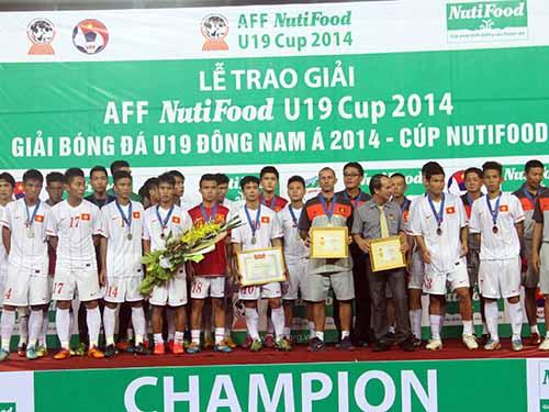 U19 Việt Nam lần thứ ba trong vòng 1 năm giành ngôi á quânẢnh: Hải Anh