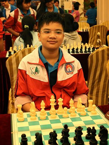 Anh Khôi lại làm rạng danh cờ vua trẻ Việt NamẢnh: ĐÔNG LINH