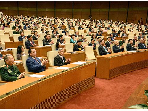 Phiên bế mạc kỳ họp thứ 8 Quốc hội khóa XIIIẢnh: HOÀNG NGỌC