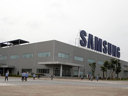 Nhà máy của Samsung ở tỉnh Thái NguyênẢnh: HÀ MINH