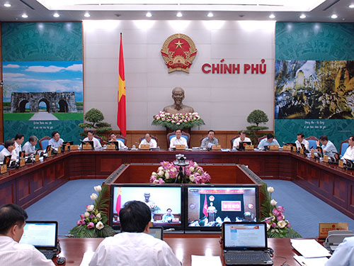 Phiên họp Chính phủ thường kỳ, bắt đầu vào ngày 30-6Ảnh: NHẬT bẮC