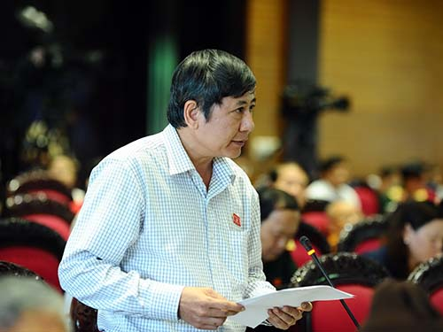 Đại biểu Trần Thanh Hải (TP HCM) khẳng định người lao động mong chờ Luật Phá sản (sửa đổi) nhưng dự thảo vẫn còn vấn đề chưa được đề cập đúng mứcẢnh: Thế Dũng
