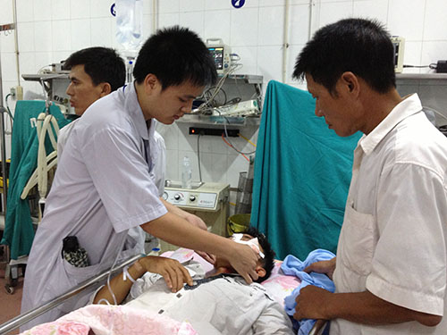 Nạn nhân tai nạn giao thông điều trị tại bệnh viện sau khi có sử dụng rượu, bia