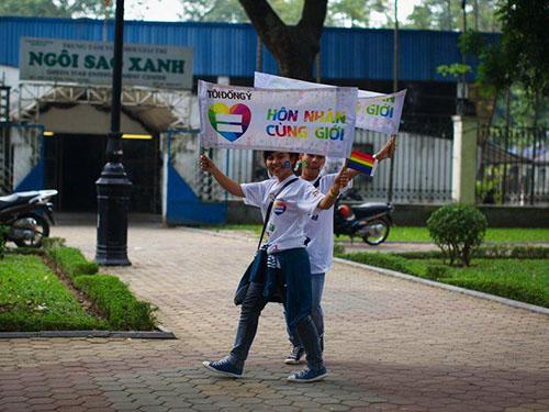 Hiện nay, khá nhiều người ủng hộ hôn nhân đồng giới (Ảnh do isee cung cấp)