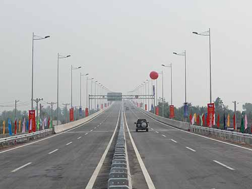 Cao tốc TPHCM -Long Thành - Dầu Giây (đoạn TP HCM - Long Thành) mới được đưa vào khai thác Ảnh XUÂN HOÀNG