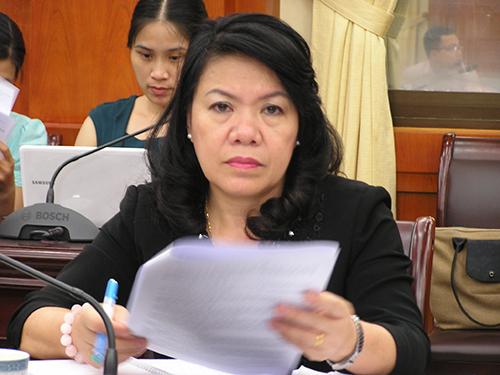 Thứ trưởng Bộ Nông nghiệp và Phát triển nông thôn Nguyễn Thị Xuân Thu vừa được luân chuyển về giữ chức Phó Bí Thư Tỉnh ủy Thanh Hóa. Bà là 1 trong 3 cán bộ nữ được luân chuyển đợt 1ẢNH: THẾ DŨNG