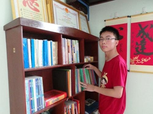 Lê Bá Tùng - thí sinh đỗ thủ khoa Trường ĐH Y Hà Nội với 29,5 điểm