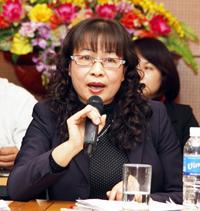 Bà Trần Thị Thúy Nga, Vụ trưởng Vụ BHXH