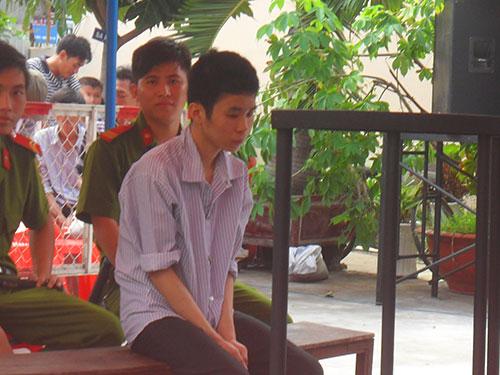 Nguyễn Ngọc Khôi tại phiên xử