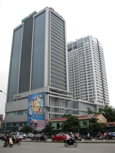 Tòa nhà Mipec nơi xảy ra sự việc đau lòng