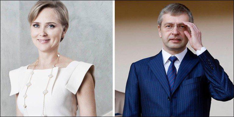 Bà Elena Rybolovleva vàTỉ phú Dmitry Rybolovlev. Ảnh:20min.ch