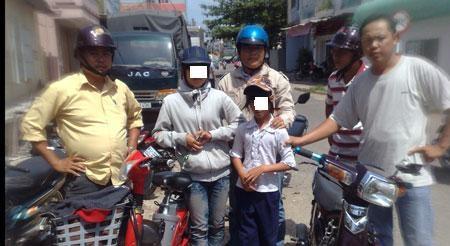 Năm 2010, lúc mới 9 tuổi, Trang đã bị bắt cùng với chị ruột vì trộm xe đạp điện