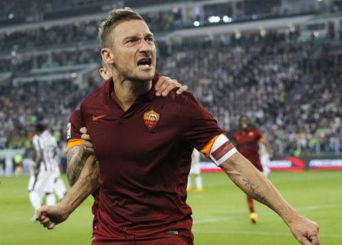Niềm vui không trọn vẹn của lão tướng Totti