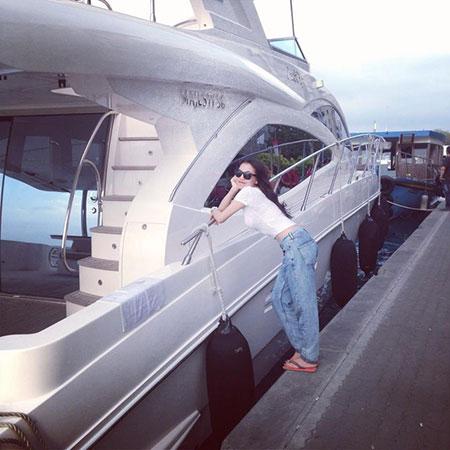 Bên cạnh chiếc du thuyền được cho là của tổng thống