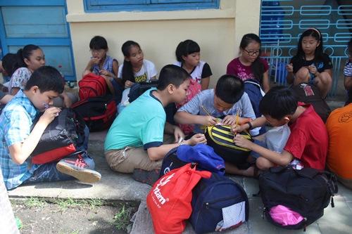 Con CNVC-LĐ tham gia Trại hè Thanh Đa lần thứ 36