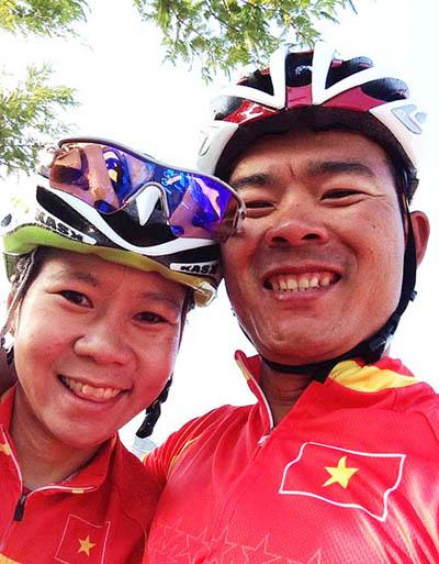 Văn Duẩn - Ngọc Trang: Đôi uyên ương vàng của xe đạp Việt