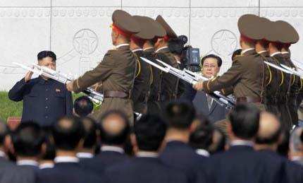 Ông Jang Song-thaek không bị người cháu vợ Kim Jong-un xử tử bằng súng máy như thường thấy Ảnh: Reuters