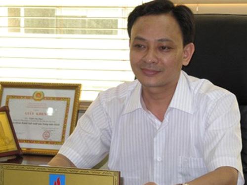 Cựu giám đốc Trịnh Văn Thảo trước khi bị khởi tố và truy nã quốc tế - Ảnh: TPO