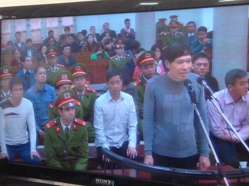 Dương Tự Trọng đã bị tuyên án 18 năm tù vì đã tổ chức cho Dương Chí Dũng bỏ trốn. Ảnh: Thế Kha