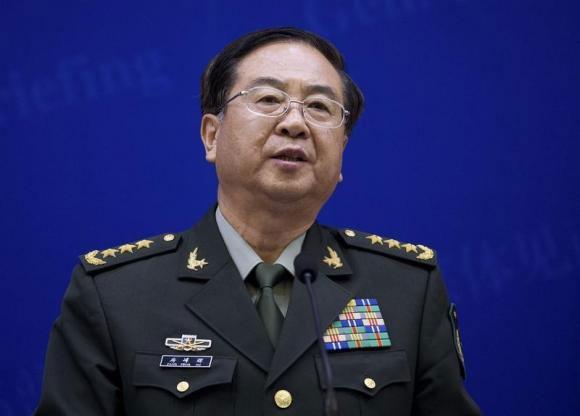 Tổng Tham mưu trưởng Quân giải phóng Trung Quốc (PLA), Tướng Phòng Phong Huy. Ảnh: Reuters