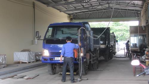 Do thiếu nhân sự, Trung tâm Đăng kiểm xe cơ giới Bình Thuận tạm ngừng hoạt động từ ngày 8-8