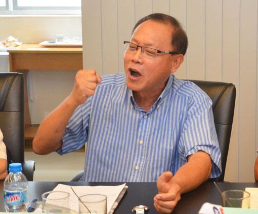 TS Nguyễn Ngọc Hải, nêu quan điểm tại buổi hội thảo
