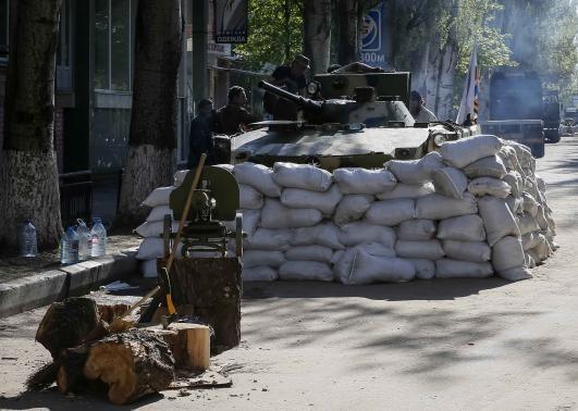 Tình hình căng thẳng leo thang ở Ukraine. Ảnh: Reuters
