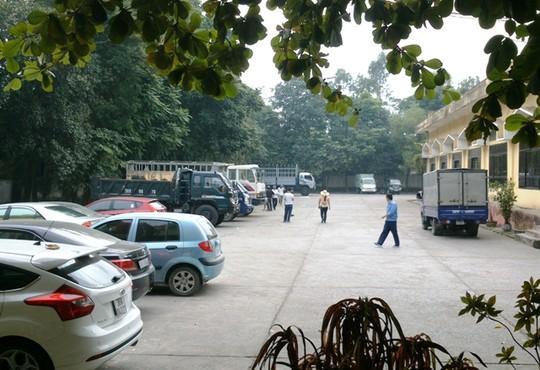 Trung tâm đăng kiểm xe cơ giới Thanh Hóa, nơi cán 4 cán bộ bị đình chỉ, công tác