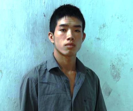 Phạm Văn Đầy lúc mới bị bắt tại công an