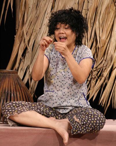 Ái Như luôn để lại ấn tượng sâu với các vai diễn trên sân khấu