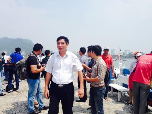 Cục trưởng Cục Hàng hải – Bộ Giao thông Vận tải Nguyễn Nhật thăm thuyền viên