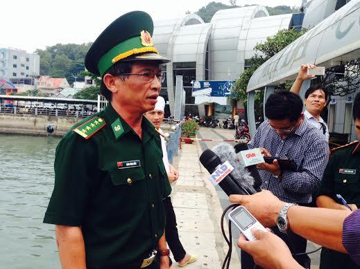 Đại tá Trần Công Hiểu, chỉ huy trưởng Bộ đội Biên phòng Bà Rịa - Vũng Tàu