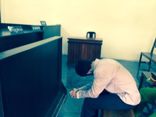 Bị cáo Thành tại phiên sơ thẩm
