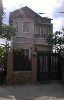 Căn nhà nơi xảy ra vụ trộm