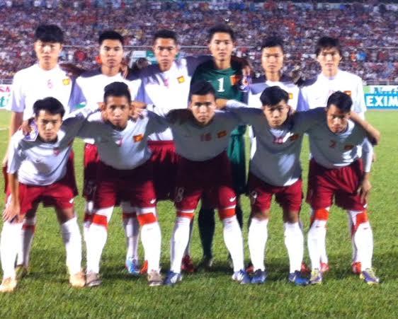 Đội hình ra sân của U19 VN