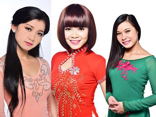 Từ trái sang: Trúc Lai, Trúc Linh, Thị Thúy