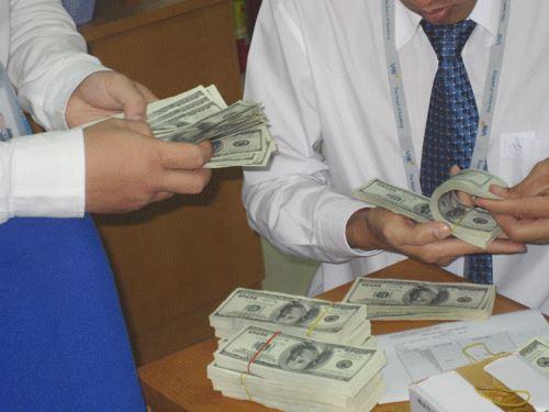 Lãi suất vay USD khá thấp được xem là nguyên nhân kích thích doanh nghiệp vay mượn loại ngoại tệ này