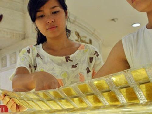 Giao dịch vàng trong nước vẫn rất yếu