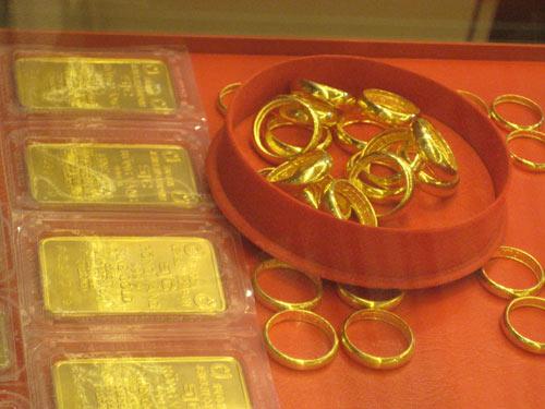 Thị trường vàng cuối năm âm lịch vẫn khá trầm lắng