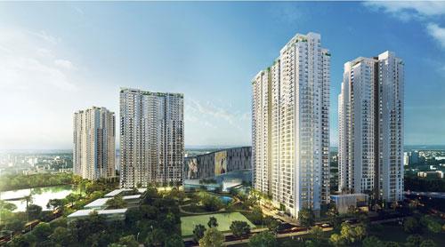Phối cảnh dự án khu dân cư cao cấp Masteri Thảo Điền