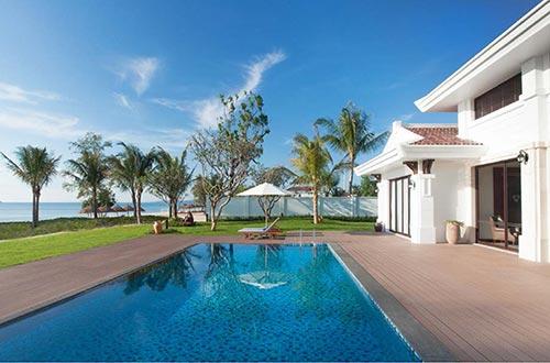 Chọn Vinpearl Premium, du khách vừa tận hưởng không gian nghỉ dưỡng tại biệt thự vừa không tách rời những tiện ích của khu vực khách sạn 5 sao