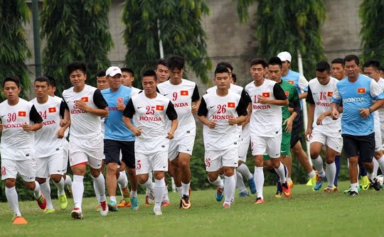 U23 Việt Nam ráo riết chuẩn bị cho cuộc tranh tài cấp châu lục