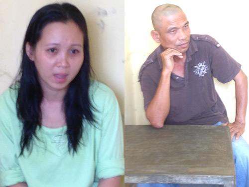 Vợ chồng Trung và Nhung