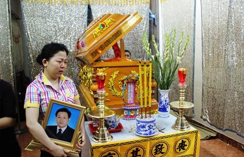 Vợ nạn nhân Nguyễn Văn Chín