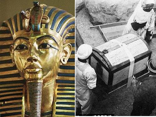 Xác ướp pharaoh Tutankhamun được khai quật năm 1923
