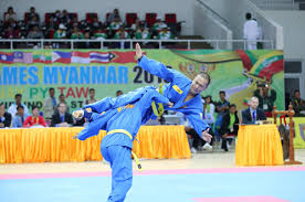 Các võ sĩ Vovinam Myanmar tại SEA Games 27