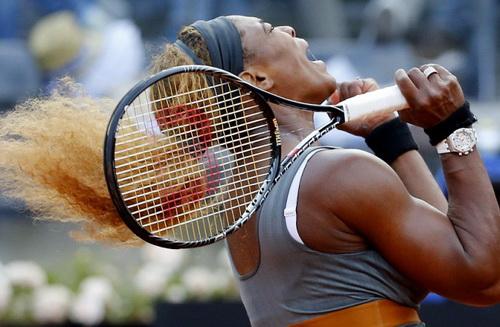 Serena Williams sẽ đăng quang ở Rome Open 2014?