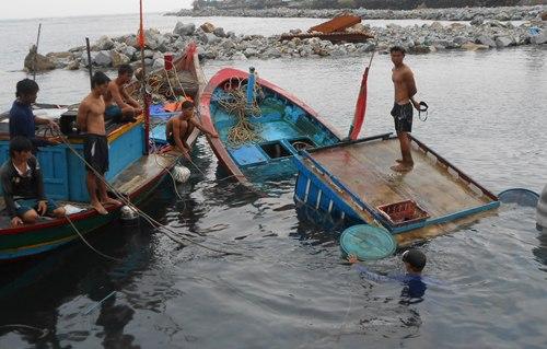 Thời gian gần đây, nhiều tàu cá của ngư dân Lý Sơn liên tục bị đâm chìm